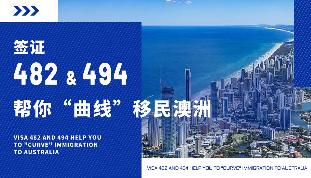 """482和494签证帮你""""曲线""""移民澳洲"""